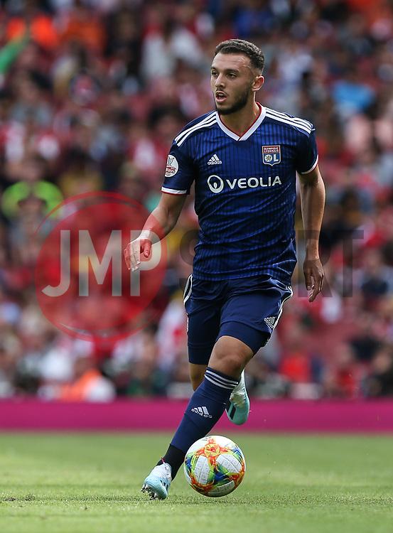 Amine Gouriri of Lyon on the ball - Mandatory by-line: Arron Gent/JMP - 28/07/2019 - FOOTBALL - Emirates Stadium - London, England - Arsenal v Olympique Lyonnais - Emirates Cup