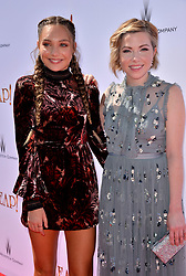 Carly Rae Jepsen and Maddie Ziegler attend the Weinstein Company's LEAP! premiere at the Grove Theatre on August 19, 2017 in Los Angeles, California. Photo by Lionel Hahn/AbacaPress.com