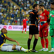 Fenerbahce's Fernandao during their Turkish superleague soccer derby Fenerbahce between Eskisehirspor at the Sukru Saracaoglu stadium in Istanbul Turkey on Friday 14 August 2015. Photo by Aykut AKICI/TURKPIX