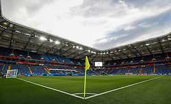 June 17, 2018 - Rostov Do Don, Rússia - ROSTOV DO DON, RO - 17.06.2018: BRAZIL VS SWITZERLAND - View of the lawn before departure between Brazil and Switzerland valid for the first round of group E of the 2018 World Cup held at the Rostov Arena in Rostov on Don, Russia. (Credit Image: © Marcelo Machado De Melo/Fotoarena via ZUMA Press)