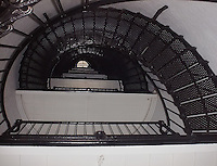 Amelia Island Lighthouse Spiral Stairway. Image taken with a Polariod PDC700 digital camera.