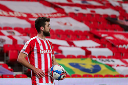 Joe Allen of Stoke City  - Mandatory by-line: Nick Browning/JMP - 03/03/2021 - FOOTBALL - Bet365 Stadium - Stoke-on-Trent, England - Stoke City v Swansea City - Sky Bet Championship