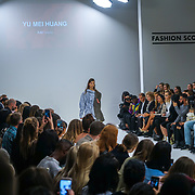 London, England, UK. 17th September 2017. Desinger Yu Mei Huang - FJU Talents Showcases lastest collection at FASHION SCOUT SS18 Day 3 at Freemasons Hall.