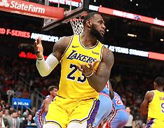 Los Angeles Lakers vs. Atlanta Hawks - 12 Feb 2019