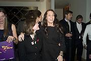 Jasmine Guinness and Julie Brangstrup, Make-A-Wish Charity Evening at Selfridges, Selfridges,  400 Oxford St. London. 17 December 2007. -DO NOT ARCHIVE-© Copyright Photograph by Dafydd Jones. 248 Clapham Rd. London SW9 0PZ. Tel 0207 820 0771. www.dafjones.com.