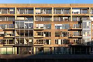 Europa, Deutschland, Koeln, Rheinauhafen, das Reclay House.<br /> <br /> Europe, Germany, Cologne, the Rheinau harbour, the Reclay House.