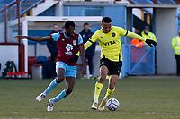 Alex Reid. Weymouth FC 1-0 Stockport CountyFC. Vanarama National League. Bob Lucas Stadium. 6.3.21