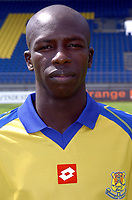 Fotball<br /> Frankrike 2004/05<br /> FC Gueugnon<br /> 27. juli 2004<br /> Foto: Digitalsport<br />  ABDICHI MOKE DIARRA