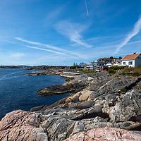 Frilufts område på Kuholmen i Kristiansand.