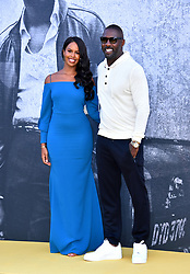 Idris Elba and Sabrina Dhowre attending the premiere of Yardie at the BFI Southbank, London.