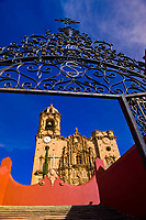 El Templo de San Cayetano de Valenciana, near Guanajuato, Mexico