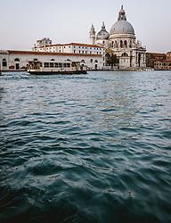 THEMENBILD - Basilica di Santa Maria della Salute, aufgenommen am 05. Oktober 2019 in Venedig, Italien // Basilica di Santa Maria della Salute in Venice, Italy on 2019/10/05. EXPA Pictures © 2019, PhotoCredit: EXPA/ JFK