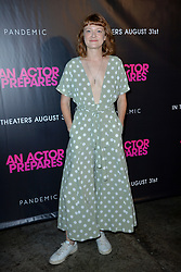 August 29, 2018 - New York, NY, USA - August 29, 2018  New York City..Colby Minifie attending 'An Actor Prepares' film premiere on August 29, 2018 in New York City. (Credit Image: © Kristin Callahan/Ace Pictures via ZUMA Press)