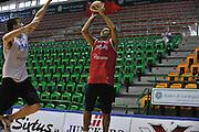 Sassari 14 Agosto 2012 - Qualificazioni Eurobasket 2013 -Allenamento<br /> Nella Foto : PIETRO ARADORI<br /> Foto Ciamillo