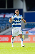 Queens Park Rangers defender Dominic Ball (12) during the EFL Sky Bet Championship match between Queens Park Rangers and Barnsley at the Kiyan Prince Foundation Stadium, London, England on 20 June 2020.