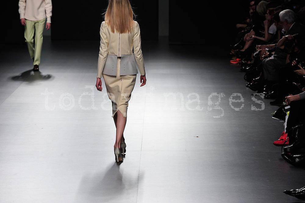 Martin Lamothe at Mercedes-Benz Fashion Week Madrid 2013