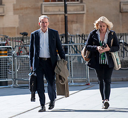 MP for East Hampshire and Education Secretary, Damian Hinds arriving at the BBC in London before appearing on the Andrew Marr show. <br /> <br /> Richard Hancox | EEm 12052019