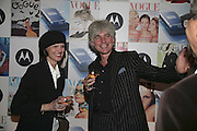 Bettina von Hase and David Ogilvy, Vogue 90th birthday party and to celebrate the Vogue List, Serpentine Gallery. London. 8 November 2006. ONE TIME USE ONLY - DO NOT ARCHIVE  © Copyright Photograph by Dafydd Jones 66 Stockwell Park Rd. London SW9 0DA Tel 020 7733 0108 www.dafjones.com