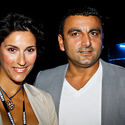 NLD/Amsterdam/20100701 - Presentatie nieuwe Samsung telefoon Galaxy S, Kris Bozilovic en partner Tamar Gönen