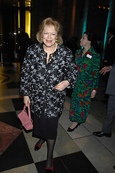 LADY ANTONIA FRASER at the Orion Publishing Groups Authors party held at the V&A museum, Cromwell Road, London on 15th February 2007.<br />