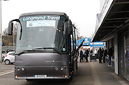 Shrewsbury Town team coach before the Sky Bet League 1 match at The Den, London<br /> Picture by Richard Brooks/Focus Images Ltd 07947656233<br /> 10/12/2016