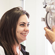 Optimal laser eye surgery. Corporate photography by Brian Lloyd Duckett, London