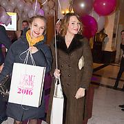 NLD/Amsterdam/20160118 -  Beau Monde Awards 2016, Stijn Fransen en Barbara Sloesen