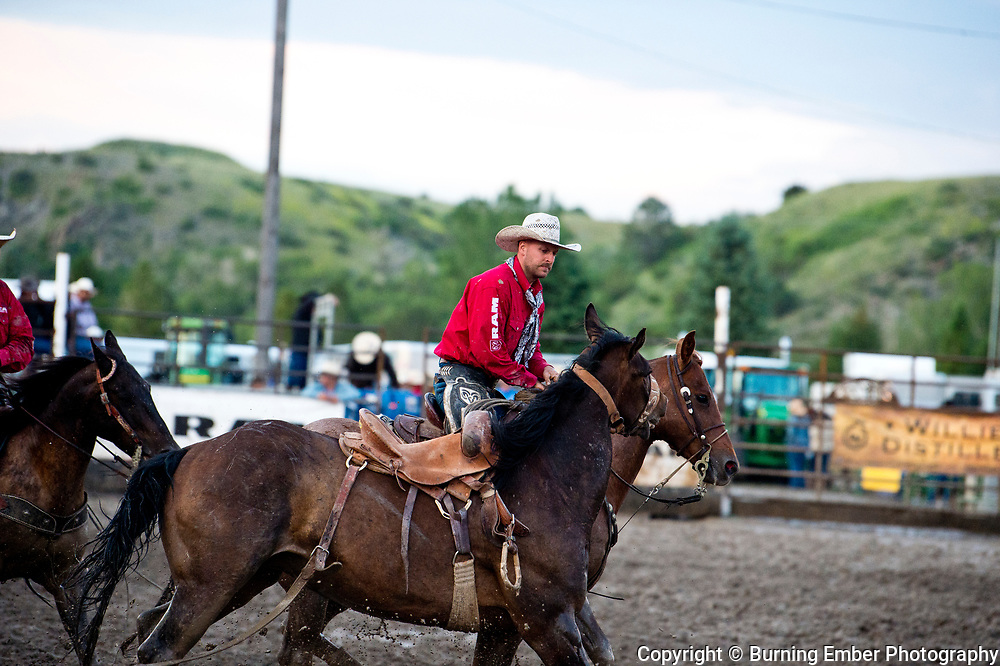 Travis Jordan and Jay Shaw at the Livingston Roundup 3rd perf July 4th 2019.  Photo by Josh Homer/Burning Ember Photography.  Photo credit must be given on all uses.