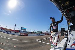 March 9, 2019 - St. Petersburg, Florida, U.S. - TONY KANAAN (14) of Brazil prepares for a practice session for the Firestone Grand Prix of St. Petersburg at The Temporary Waterfront Street Course in St. Petersburg Florida. (Credit Image: © Walter G Arce Sr Asp Inc/ASP)
