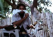 Chalice Dread with Ghetto Blaster - 1973