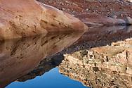 Lake Powell, sunrise reflections, Glen Canyon National Recreation Area, Utah
