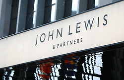 "A general view of the John Lewis and Partners store in Oxford street, London. The Partnership has revealed half-year profits crashed 98.8\% as it battled against ""challenging times"". Picture dated: Thursday September 13, 2018. Photo credit should read: Isabel Infantes / EMPICS Entertainment."