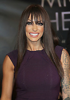 Jodie Marsh Michael Jackson 'The Life of an Icon' World Premiere, Empire Cinema, Leicester Square, London, UK, 02 November 2011:  Contact: Rich@Piqtured.com +44(0)7941 079620 (Picture by Richard Goldschmidt)