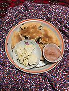 Lunch at the house of Doostik, in Hussaini village, Gojal region.