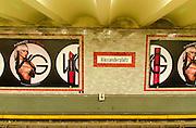 Alexanderplatz underground station, Berlin, Germany