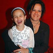Heropening Madame Tussauds Amsterdam, Sandra Brood en dochter Holly