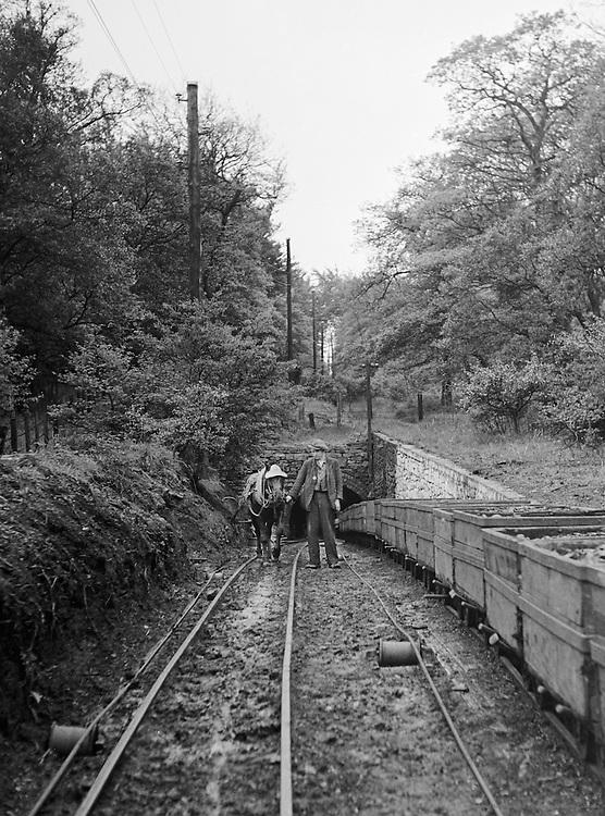 Durham, Pit near Mining Shaft, England, 1935