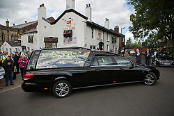 © Licensed to London News Pictures. 27/08/2015. Bury, UK.  The funeral of Neville Neville father of footballers Gary & Phil Nevile & England net ball coach Tracey has taken place today at Bury Parish church. Neville died in Australia after being taken ill on a visit to support his daughter  Tracey.  Photo credit: Andrew McCaren/LNP