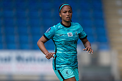 CHESTERFIELD, ENGLAND - Sunday, April 25, 2021: Liverpool's Taylor Hinds during the FA Women's Championship game between Sheffield United FC Women and Liverpool FC Women at the Technique Stadium. Liverpool won 1-0. (Pic by David Rawcliffe/Propaganda)