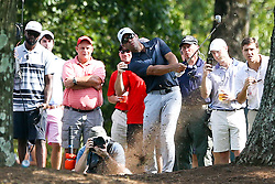 September 23, 2017 - Atlanta, Georgia, United States - Paul Casey hits out of the rough on the 5th hole during the third round of the TOUR Championship at the East Lake Club. (Credit Image: © Debby Wong via ZUMA Wire)