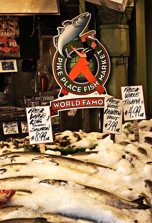 Pike Place Fish Market ~ Seattle