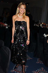 LUCY SANGSTER at the 2004 Cartier Racing Awards in association with the Daily Telegraph, held at the Four Seasons Hotel, London on 17th November 2004.<br />