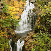 Crystal Cascades in the fall. Pinkham Notch, New Hampshire
