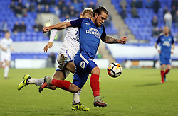 Jack Marriott of Peterborough United on the attack against Tranmere Rovers - Mandatory by-line: Joe Dent/JMP - 15/11/2017 - FOOTBALL - Prenton Park - Birkenhead, England - Tranmere Rovers v Peterborough United - Emirates FA Cup first round replay