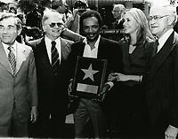 1980 Quincy Jones' Walk of Fame ceremony