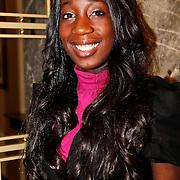 NLD/Amsterdam/20110125 - Opening Amsterdamse Effectenbeurs door cast Legally Blond, Pearl Jozefzoon