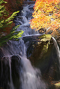 Japan, Tochigi, Nikko, National park waterfall