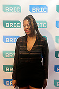 10 October-New York, NY- Director/Producer Kecia Elan Cole, BRIC backstage at the BRIC Stoop Series for 'Black Masculinity and the Style of Resistance' held at BRIC on October 10, 2017 in Brooklyn, New York City.  (Photo by Terrence Jennings/terrencejennings.com)