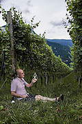 Italy, Sudtirolo. cantina Weinhof Kobler, Margrè, Armin Kobler