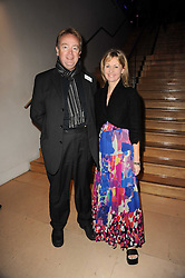 GREG & KATE MOSSE at the annual Orion Publishing Group's Author party held in the Paul Hamlyn Hall, The Royal Opera House, Covent Garden, London on 22nd February 2010.